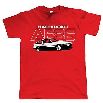 AE86 Hachiroku, Camiseta para Hombre - JDM Drift Corolla Levin Trueno 4A-GE