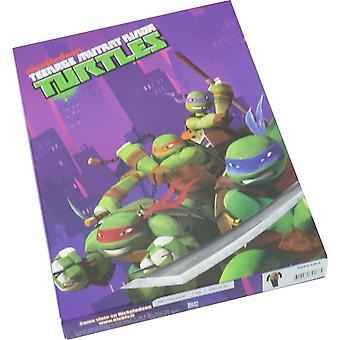 Meninos Nickelodeon Ninja Turtles manga longa Pyjama jogo embalado na caixa