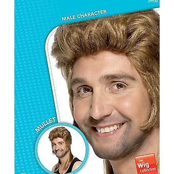 Super redneck peruka braterstwa, perukę mullet, ciemny blond