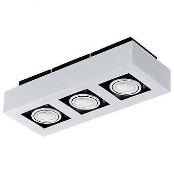 Eglo LOKE Box 3 Spot Ceiling Light
