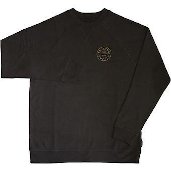 Camiseta juramento de Brixton lavado negro