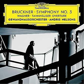 Bruckner / Nelsons / Gewandhausorchester Leipzig - Symphony No 3 / Wagner: Tannhauser Overture [CD] USA import