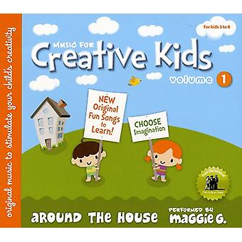 Music for Creative Kids - Music for Creative Kids: Vol. 1-Maggie G-Around the House [CD] USA import