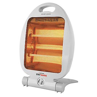 Lloytron Quartz Heater with 2 Heat settings 800W - Grey (F2102GR)