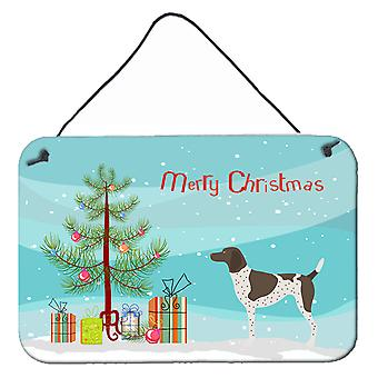 German Shorthaired Pointer Christmas Wall or Door Hanging Prints