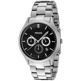 Fossiele Mens Watch 'Ansel' Stainless Steel horloge FS4642
