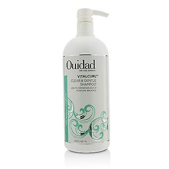 Ouidad Vitalcurl Clear & Gentle Shampoo (classic Curls) - 1000ml/33.8oz