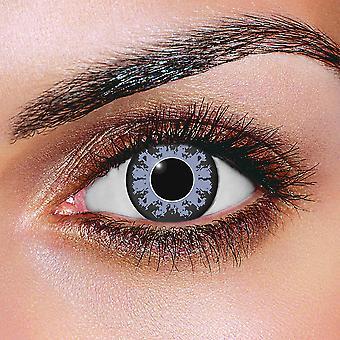 Diamond blå kontaktlinser