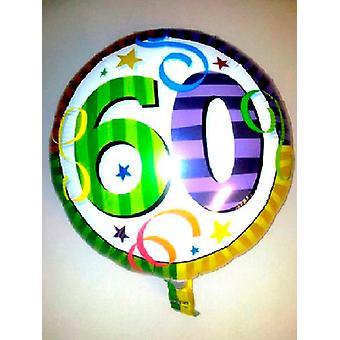 Feuille ballon 60e anniversaire '