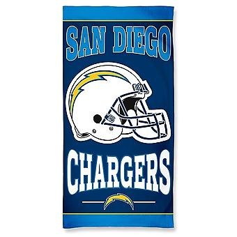 Wincraft NFL Los Angeles Chargers beach towel 150x75cm