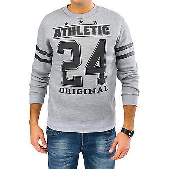 Menns gensere forlaget Sweatshirt Print Hoodie sweatshirts langarma (4 modeller)