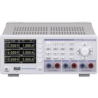 Rohde & Schwarz HMC8041 banc PSU (tension réglable) 0 - 32 V 0 - 10 A 100 W USB host, USB, Ethernet no des sorties 1 x
