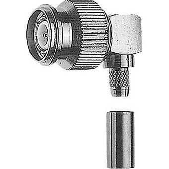 Telegärtner J01010A0006 TNC connector Plug, right angle 50 Ω 1 pc(s)