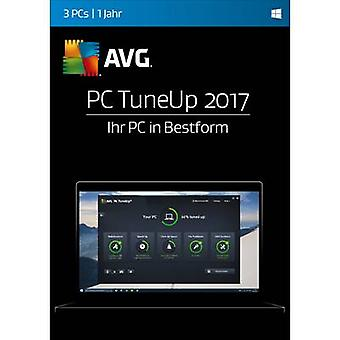 AVG PC TuneUp 2017 Full version, 3 licenses Windows System optimisation
