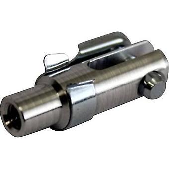 Modelcraft Aluminium gaffel gemensamma invändig gänga M3 1 dator