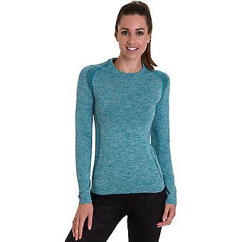 Mirada al aire libre mujeres/señoras camiseta Edinburgh Wicking gimnasio Top