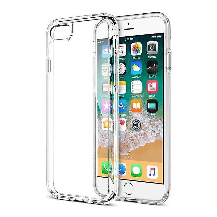 Stuff Certified® Transparent Clear Hard Case Cover iPhone Case 8