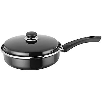 Judge Induction, Black 24cm Saute Pan