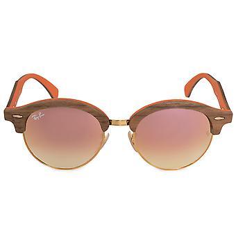 RB4246M lunettes de soleil Ray-Ban Round 12187O 51 | Armature en métal de cuivre | Lentilles Flash dégradés en cuivre