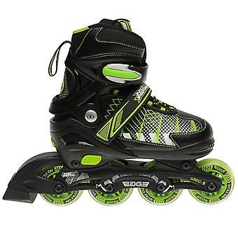 No Fear Kids Children Boys Edge Junior Inline Skates Roller Blades 4 Wheel