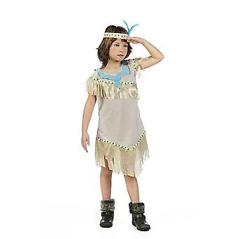 Fille indienne robe costume d'enfant fille indienne Squaw Prairie