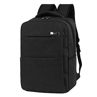 Stylish and roomy backpack-black