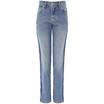 Victoria Beckham Cali Side Stripe Jeans