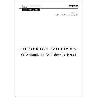 O Adonai - Et Dux Domus Israel - vokal Score av Roderick Williams - 97