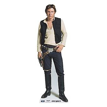 Han Solo - Star Wars Lifesize Papp Cutout / Standee (Harrison Ford)