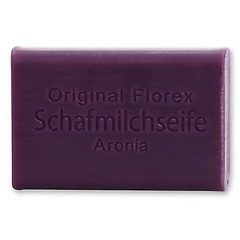 Florex schapenmelk zeep-Aronia-romige zeep zeer vochtinbrengende en voedende 100 g
