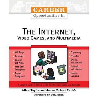 Karriärmöjligheter inom Internet, TV-spel och Multimedia (karriärmöjligheter) (karriärmöjligheter (Häftad))
