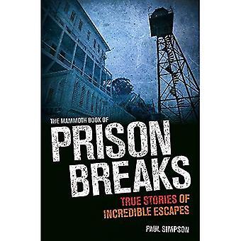 De mammoet boek van gevangenis breekt (mammoet Books)