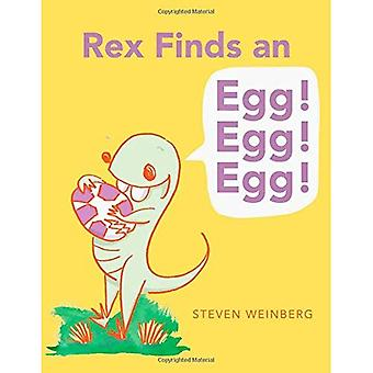 Rex vindt een ei! Ei! Ei!
