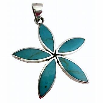 Floral Design Sterling Silver 925 Pendant Gift Item