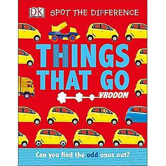 Spot forskjellen: ting at går (Spot forskjellen) [brettet boken]