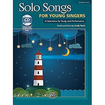 Solosånger för unga sångare: 12 val för studien och prestanda, bok & CD