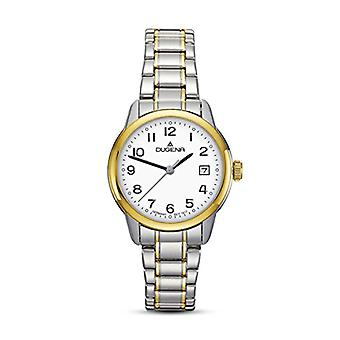 Dugena Watch Analog quartz ladies with stainless steel strap 4460717