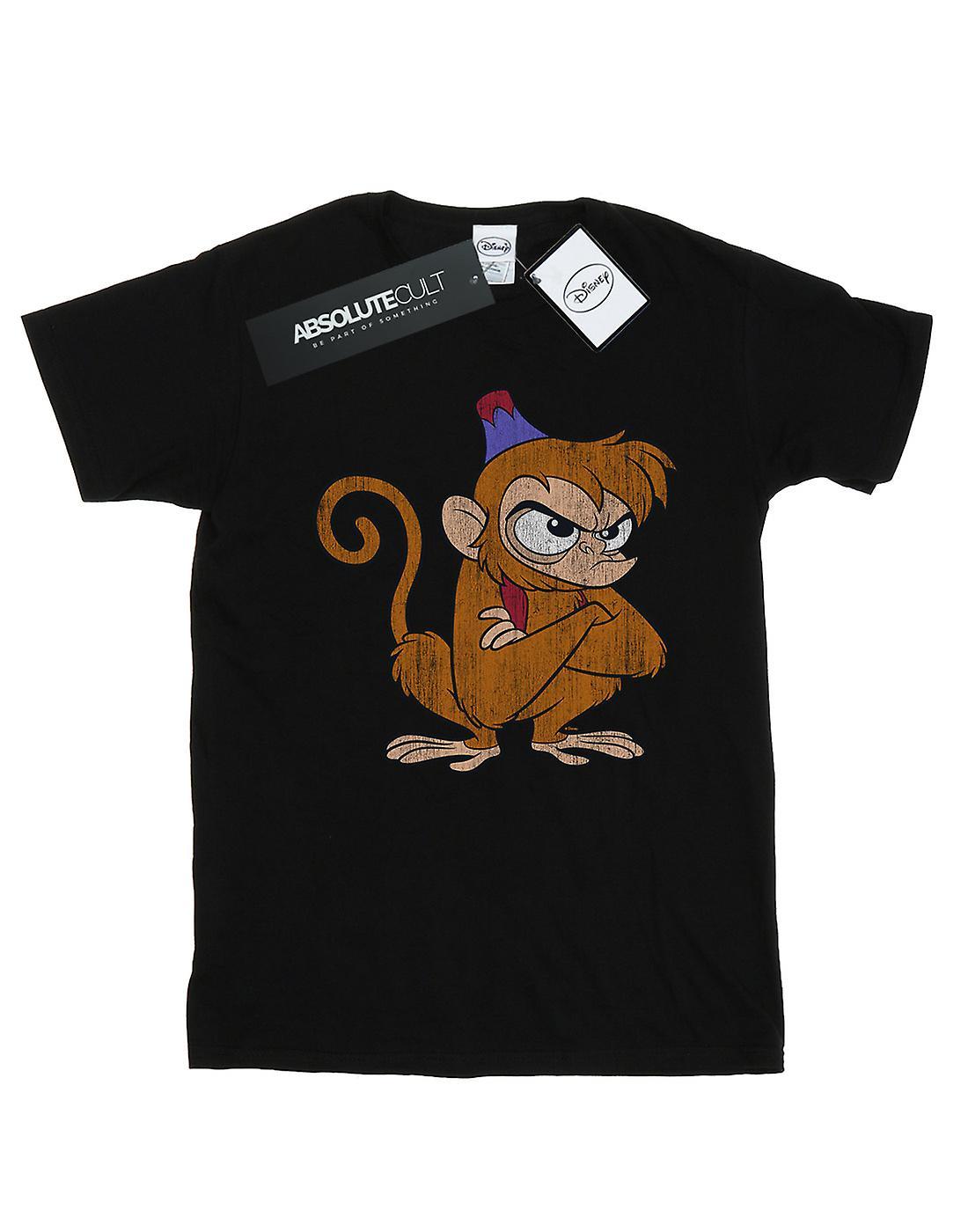 Disney Women's Aladdin Classic Angry Abu Boyfriend Fit T-Shirt