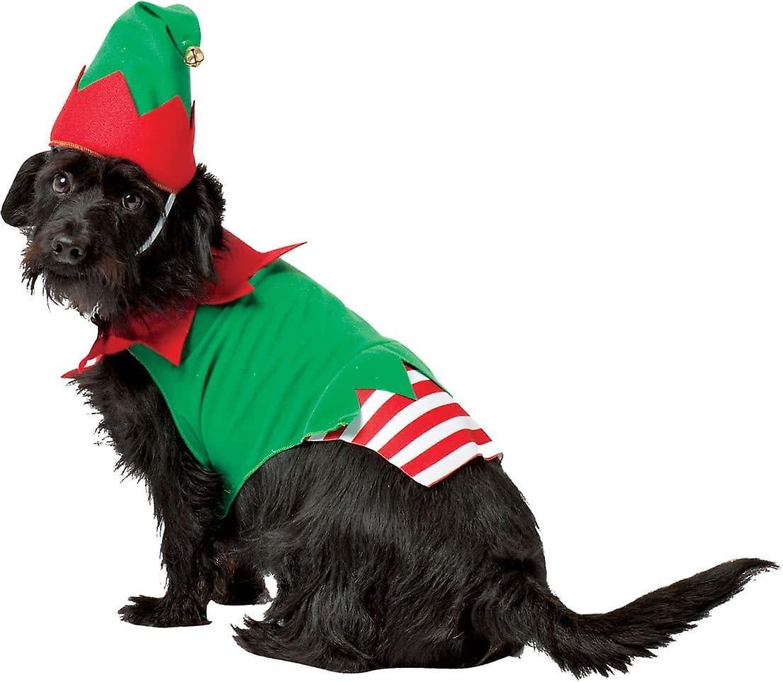 Elf perro traje para perros grandes
