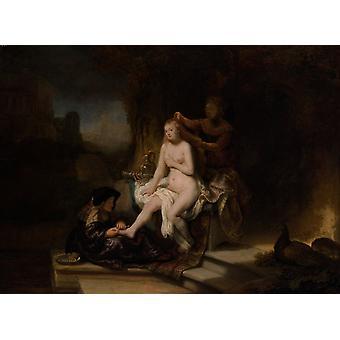 Bathseba im Bade, Rembrandt, 50x37cm