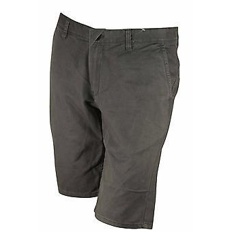 Quiksilver Mens daglige Chino Casual Shorts - mørk grå