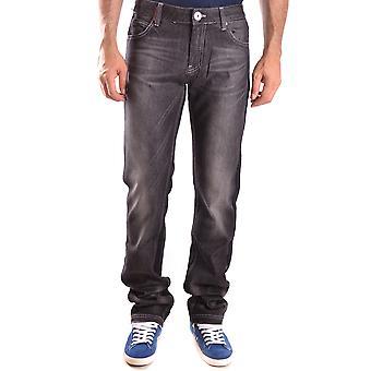 Frankie Morello Ezbc167013 Men's Black Denim Jeans