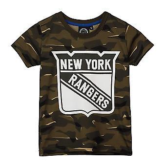 NHL مروحة تي شيرت -- نيويورك رينجرز الخشب كامو