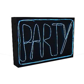 Make your Own DIY Blue Neon Light