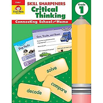 Skill Sharpeners Critical Thinking - Grade 1 by Evan-Moor Educational