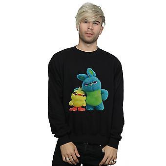 Disney Men's Toy Story 4 Ducky And Bunny Sweatshirt