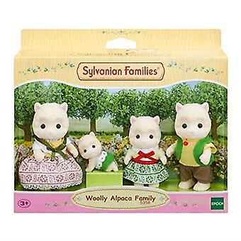 Sylvanian Families Woolly Alpaca Family Toy