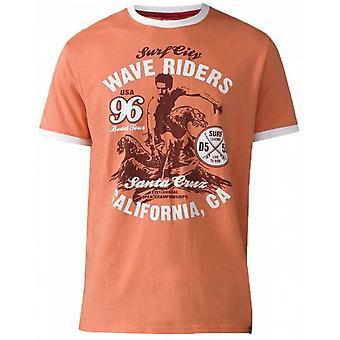 DUKE Duke Wave Riders Fashion Print T Shirt