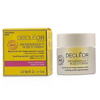 Decleor Aromessence Rose D'orient Soothing Comfort Night Face Balm - For Sensitive Skin - 15ml/0.47oz