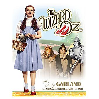 Wizard of Oz Dorothy and Toto Retro Tin Sign